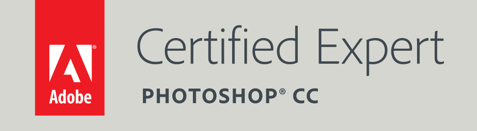 Certified Expert in Photoshop CC