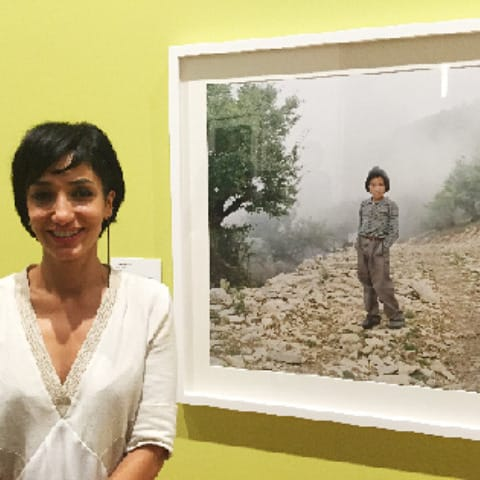 2015 - PSC Bachelor of Photography teacher Hoda Afshar wins the National Photographic Portrait Prize
